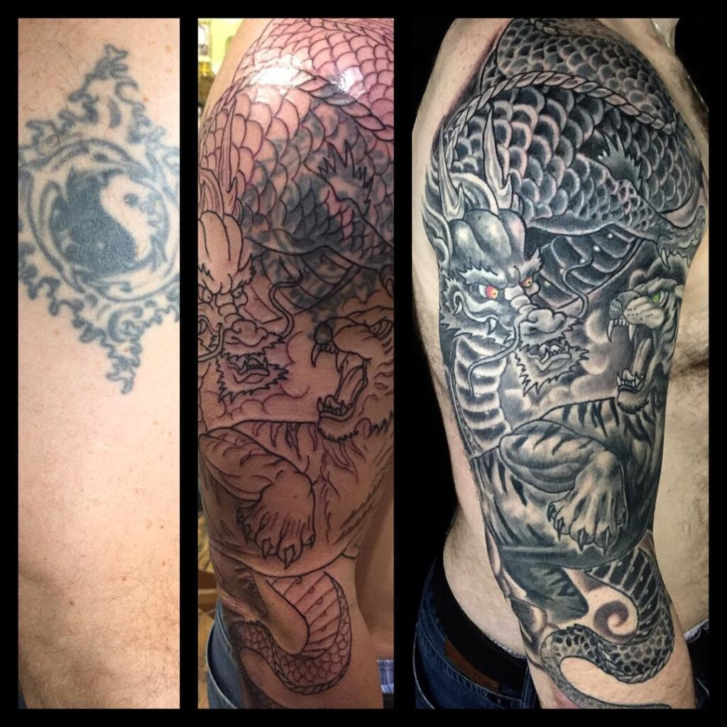 Patrick Cornolo Tattoo Cover up